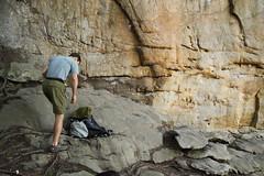 20100404_New River Gorge - Day 2 - Long Wall - Chewy, 5.10b _001 (monkey_vet) Tags: chewy rockclimbing newrivergorge longwall 510b