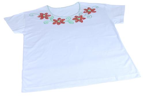 Camiseta Bordada a Mão by PARANOARTE