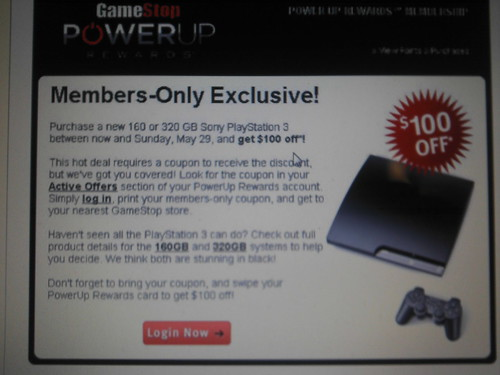 gamestop coupons ps3. GameStop has a deal on