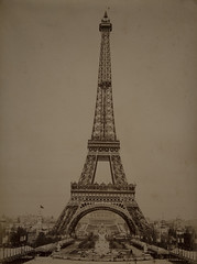 Eiffel Tower during 1889 Exposition