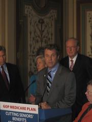 Senate Dems Protest Medicare Cuts by TalkMediaNews