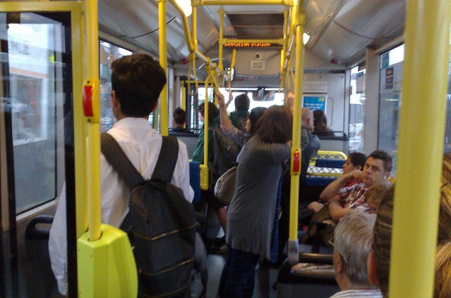 POTD: Crowded buses