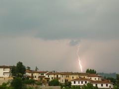 Fulmini Lightning (Jacopo Cambi) Tags: clouds flash stroke lightning storms temporale thunderbolt lampo fulmine saetta cloudsstormssunsetssunrises