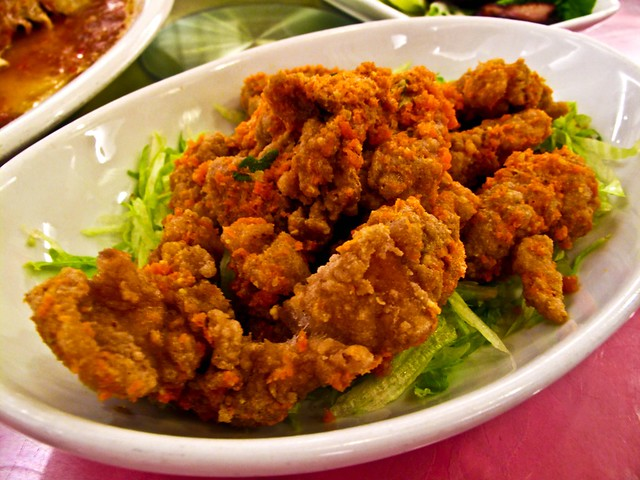 IMG_0547 咸蛋鸡柳, Chicken fried with salted egg