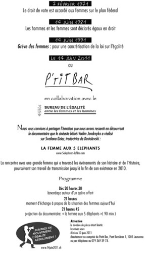 14 juin au P'tit Bar