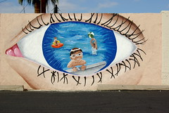 """Watch children around water"" Safety Campaign Mural"