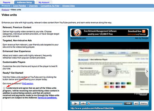 Setting Up Google AdSense Video (YouTube) Ads