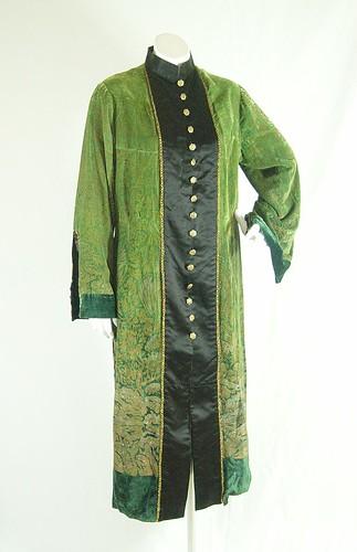 Gallenga kimono-style coat, ca.1920-23