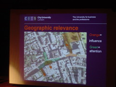 Geographic relevance