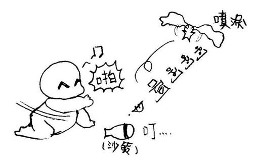 寶寶爬行大賽1