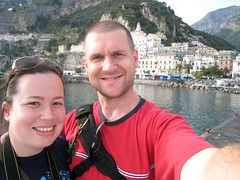 Jess and Andrew at Amalfi