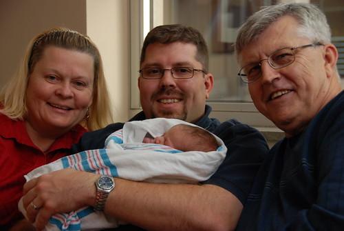 Steve w/ Mom & Dad