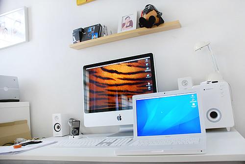macbook рабочее место