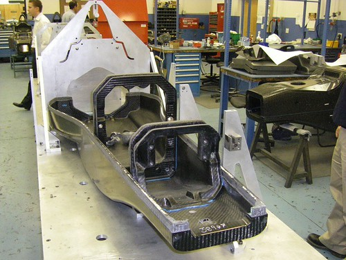 Formula 1 style monocoque - internal structure - F1technical net
