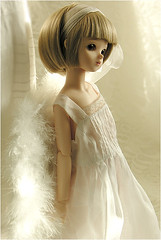 Sweet Angel (MiriamBJDolls) Tags: angel wings doll matilda bjd volks sarang msd bluefairy sweetangel tinyfairy mashasoutfit