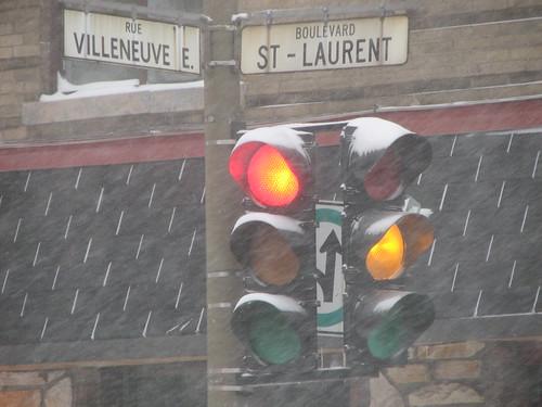 Rue Villeneuve & Boulevard St-Laurent
