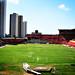 O estádio de futebol Adelmar da Costa Carvalho IV
