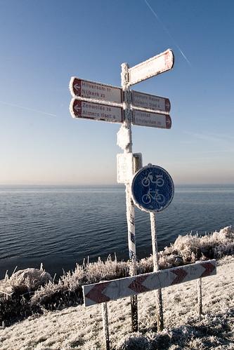Freezing Gooimeerdijk