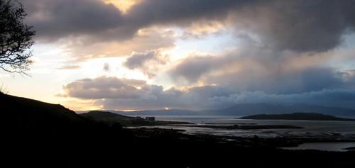 Hunterston sky