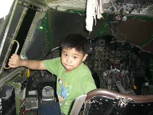 Young pilot for C-119