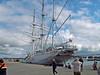 Gorch Fock im Stralsunder Hafen