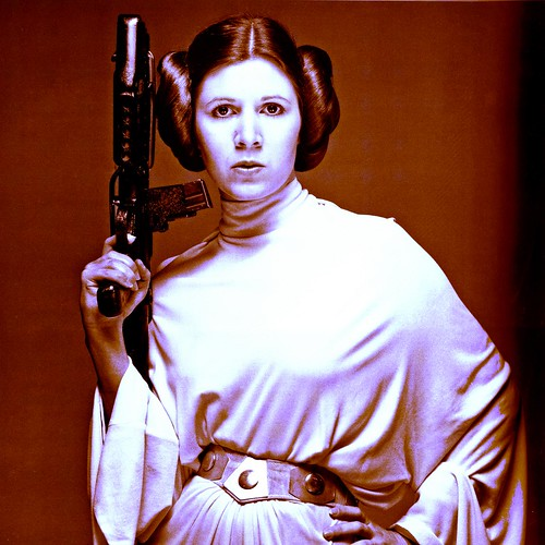 carrie fisher leia. Carrie Fisher as Princess Leia