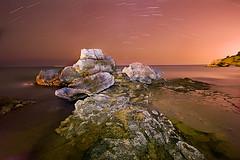 movimiento en la noche (natalia martinez) Tags: noche estrellas exposicion larga estelas 20tfnocturna
