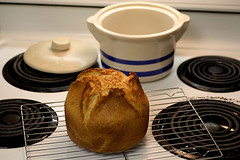 No-Time Bread cooling