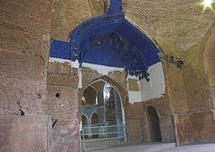 Inside, Masjed-e Kabud (Fabien Dany) Tags: voyage travel tourism architecture iran middleeast mosque bluemosque mosque tabriz masjed mosquebleue fabiendany