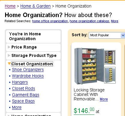 shopzilla categorization