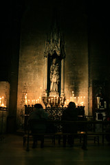 I say a little prayer for you (simo__) Tags: paris france church candles jesus gothic holy disturbing saintsulpice overpowering disquieting