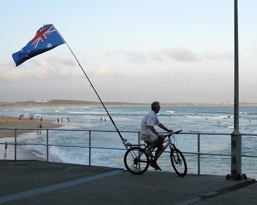 Cronulla on Australia Day weekend