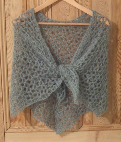 Free Knitting Pattern For Mohair Shawl : Carmen s Shawl Without Seams
