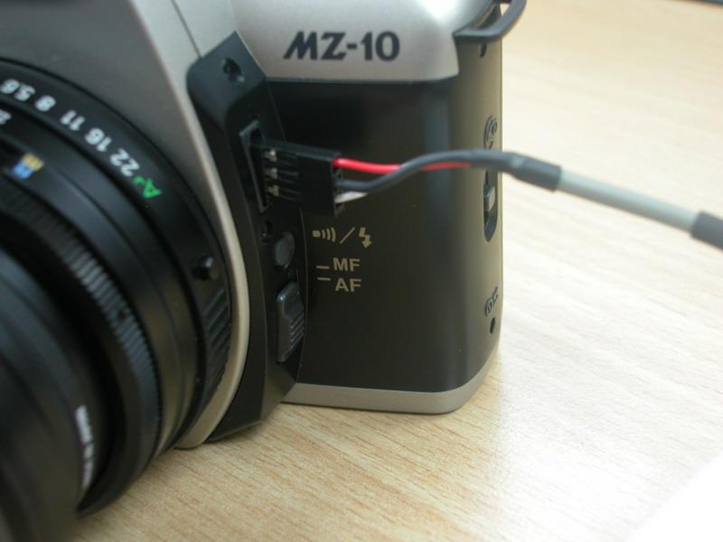 自製MZ系列、K100D共用快門線