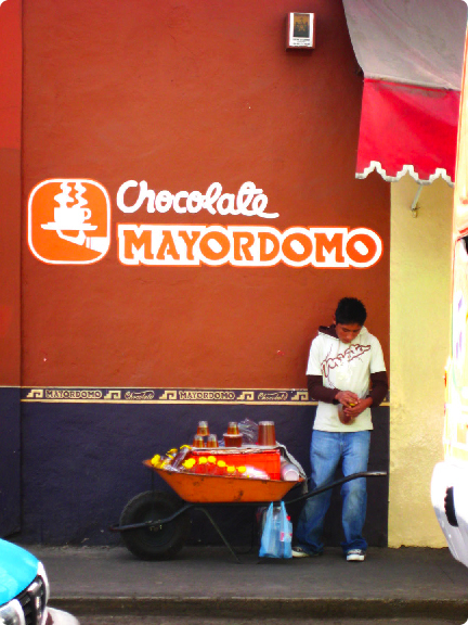 chocolate de mayordomo