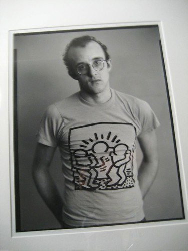 Keith Haring by Timothy Greenfield Sanders