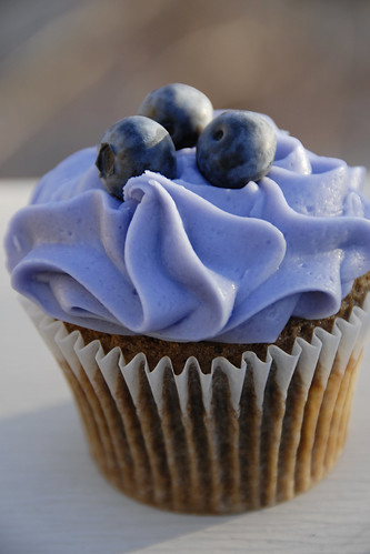 Studmuffin Blueberry cupcake from Salt Lake City's So Cupcake