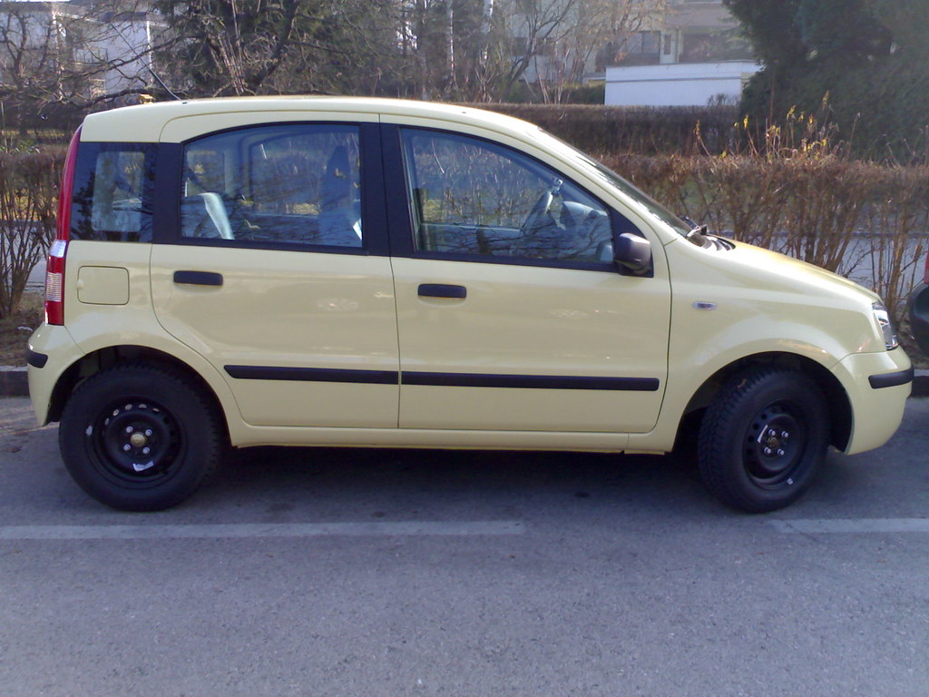 My new car - a FIAT Panda