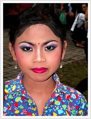 Bali (Franc Le Blanc .) Tags: portrait bali indonesia dance asia makeup ubud tacomaartmuseum ilovemypic onlythebestare coloursplosion facialportraits