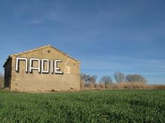 campo (nadie en campaña) Tags: streetart graffiti stencil politica nadie