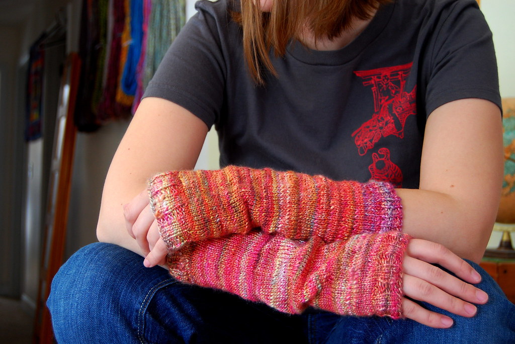Viscose armwarmers