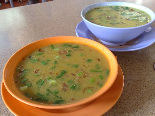 Soup Kambing from A Rashid Khan in the front and Shireen Rizwana in the back