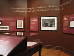 In Pursuit of Emancipation Special Exhibit.