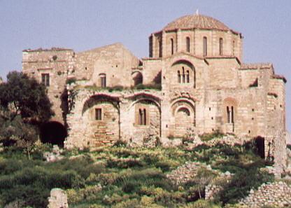 Iglesia Agia Santa Sof�a, Monemvasiá, Peloponeso, Grecia