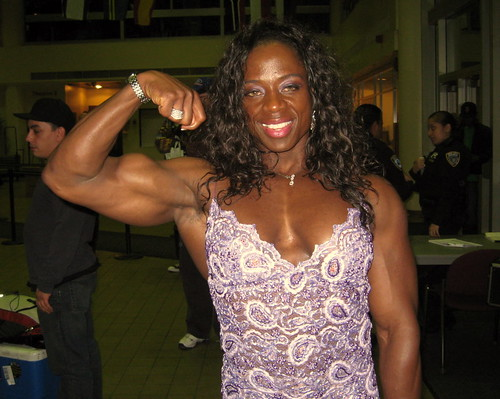 Iris Kyle At The 2008 NY Pro Show