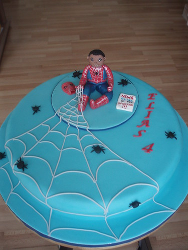 SPIDERAMN Cake