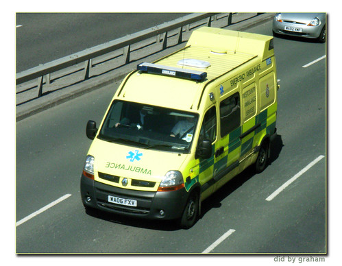 South Western Ambulance WX06FXV