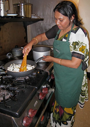 Sangita cooking