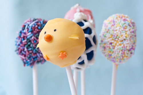 cake pops easter. Finished Cake Pops