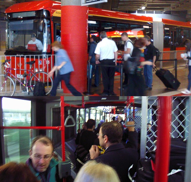 POTD: Crowding on Skybus